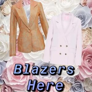 Blazers and Suits and Jackets
